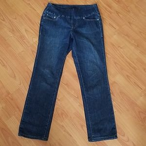 Jag pull on high rise slim leg jeans